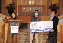 صورة تكريم الفائزين فى أول مسابقة مصرية للشركات الناشئة
